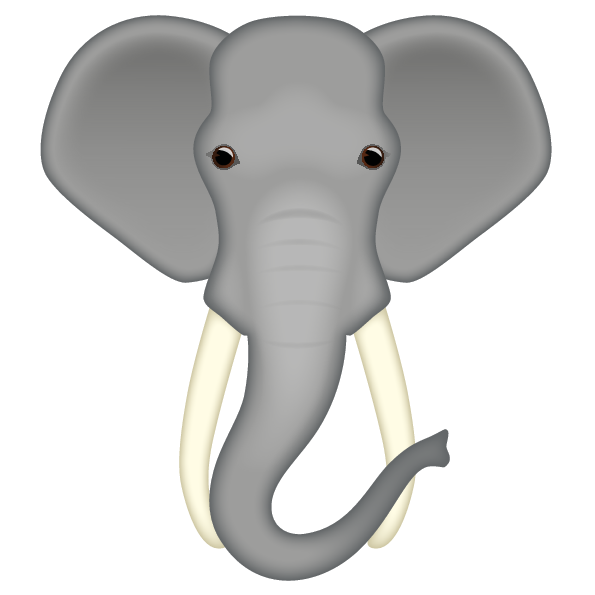 Emoji The Official Brand Elephant Face Imagine yourself riding the elephant wandering through africa or india. emoji the official brand elephant face