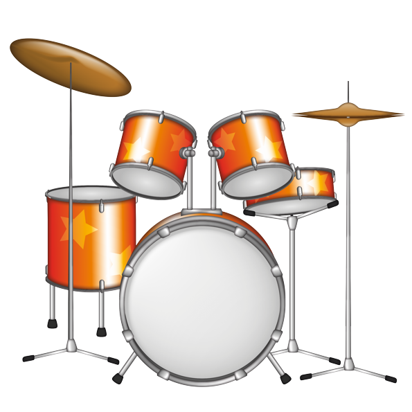 Emoji The Official Brand Drum Kit Drum — a sign of a musical instrument from a 👪 family of the percussion group of instruments. emoji the official brand drum kit